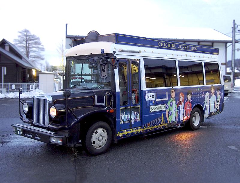 西武観光バス ラッピングレトロバス