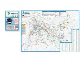 熊本都市バス 全域版路線図