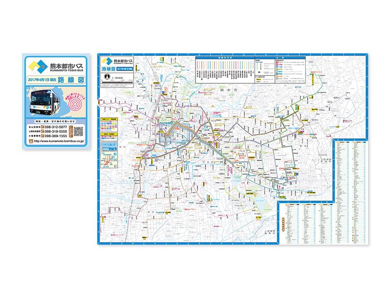 k熊本都市バス 全域版路線図