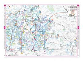 西武バス 乗合ルートマップ