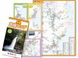 東海バス 全線路線マップ